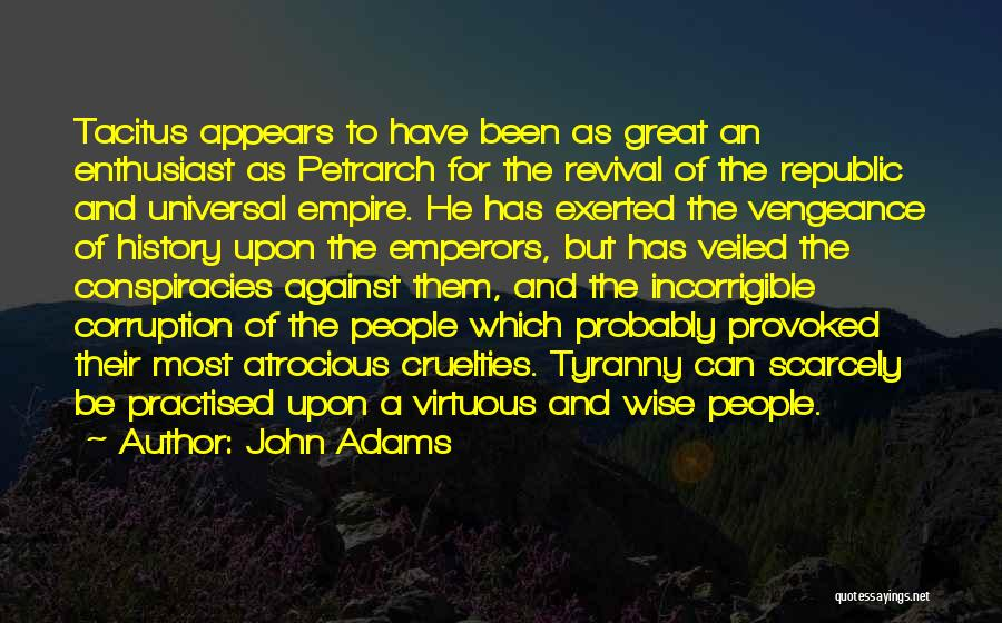 Veiled Quotes By John Adams