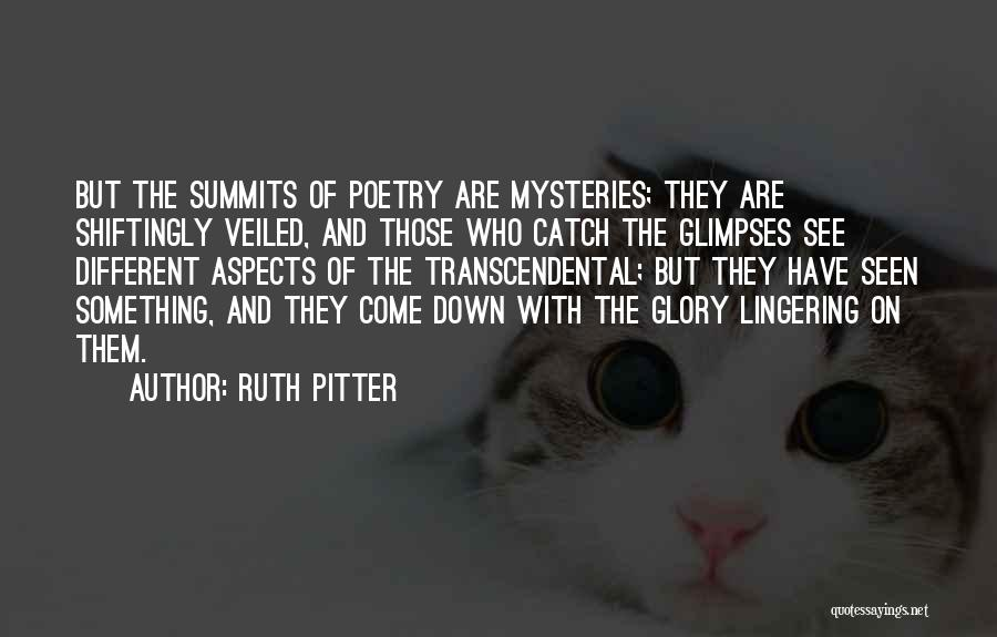 Veiled Quotes By Ruth Pitter