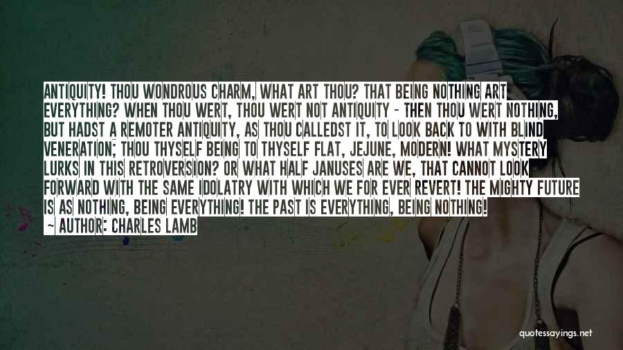 Veneration Quotes By Charles Lamb