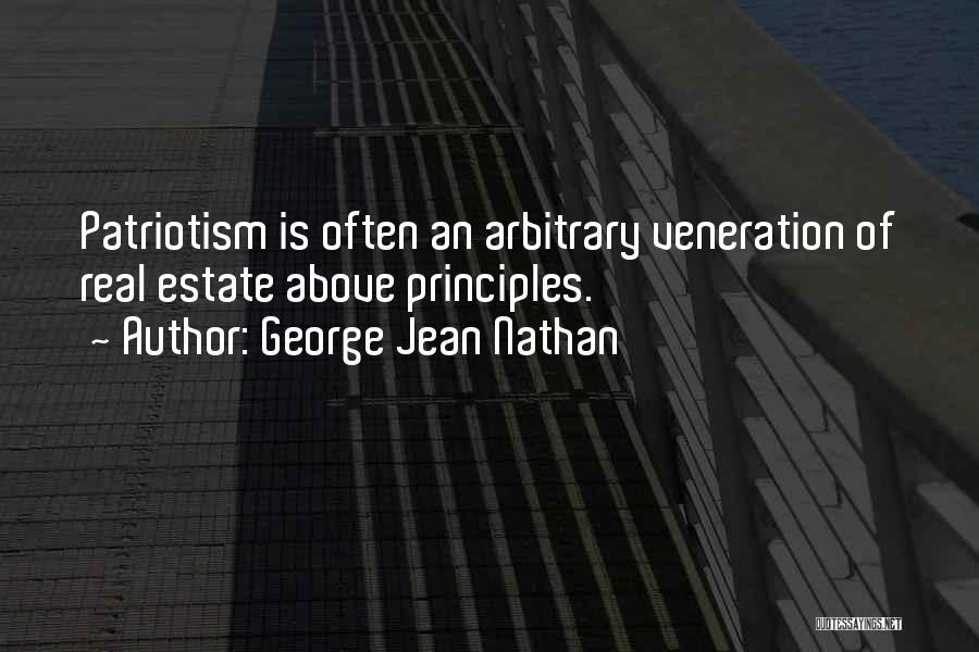 Veneration Quotes By George Jean Nathan