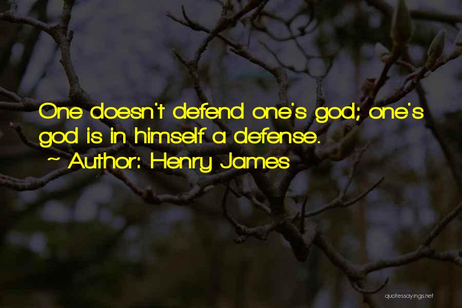 Veneration Quotes By Henry James