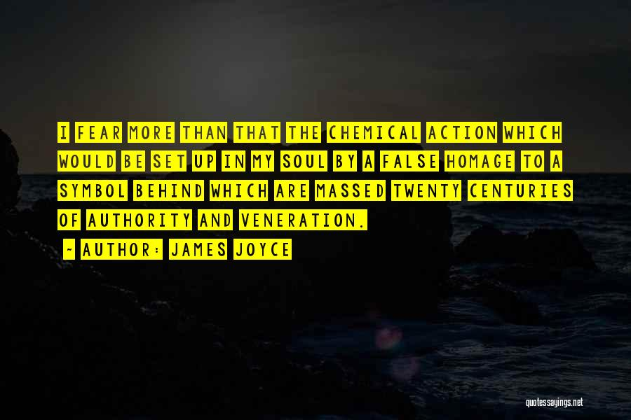 Veneration Quotes By James Joyce
