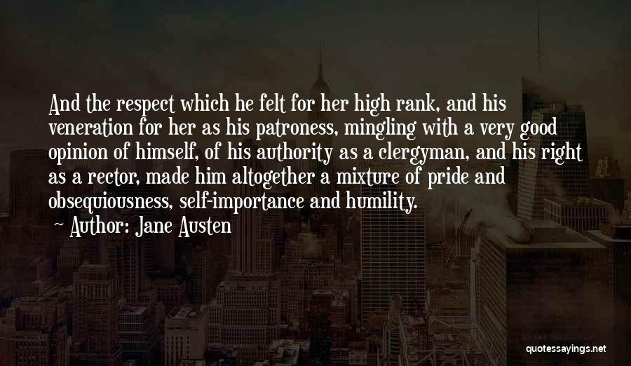 Veneration Quotes By Jane Austen