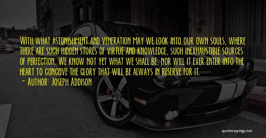 Veneration Quotes By Joseph Addison