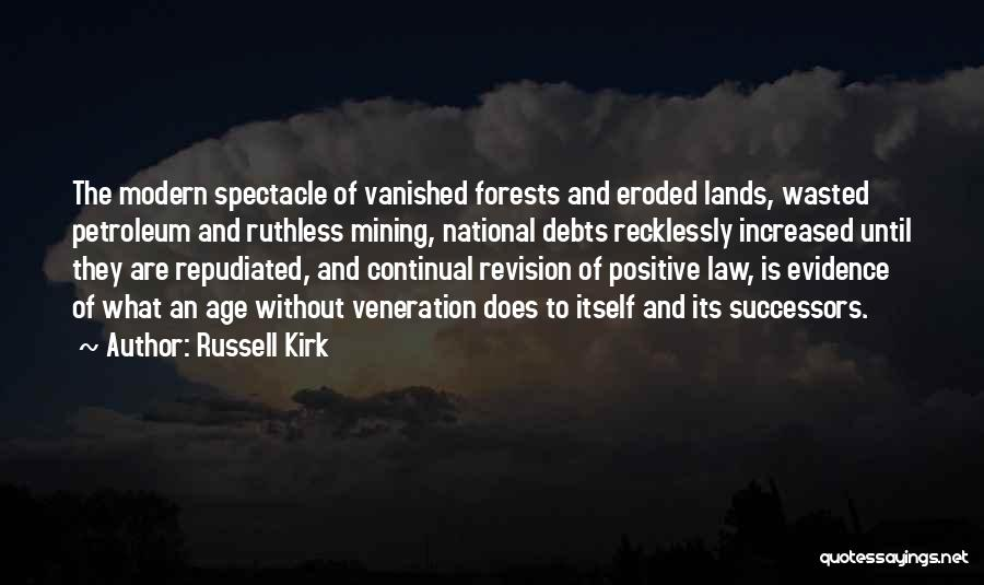 Veneration Quotes By Russell Kirk