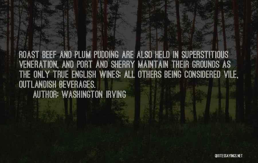 Veneration Quotes By Washington Irving