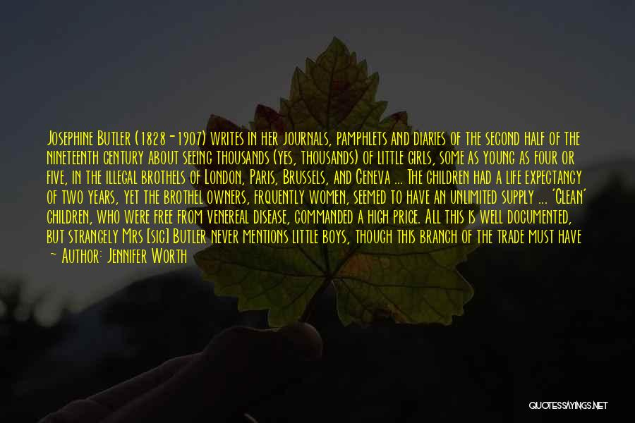 Venereal Disease Quotes By Jennifer Worth