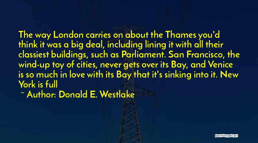 Venice Sinking Quotes By Donald E. Westlake