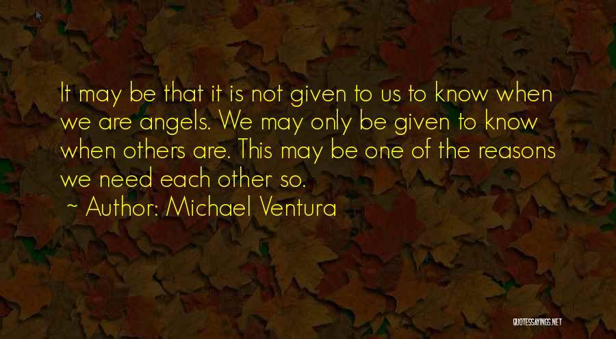 Ventura Quotes By Michael Ventura