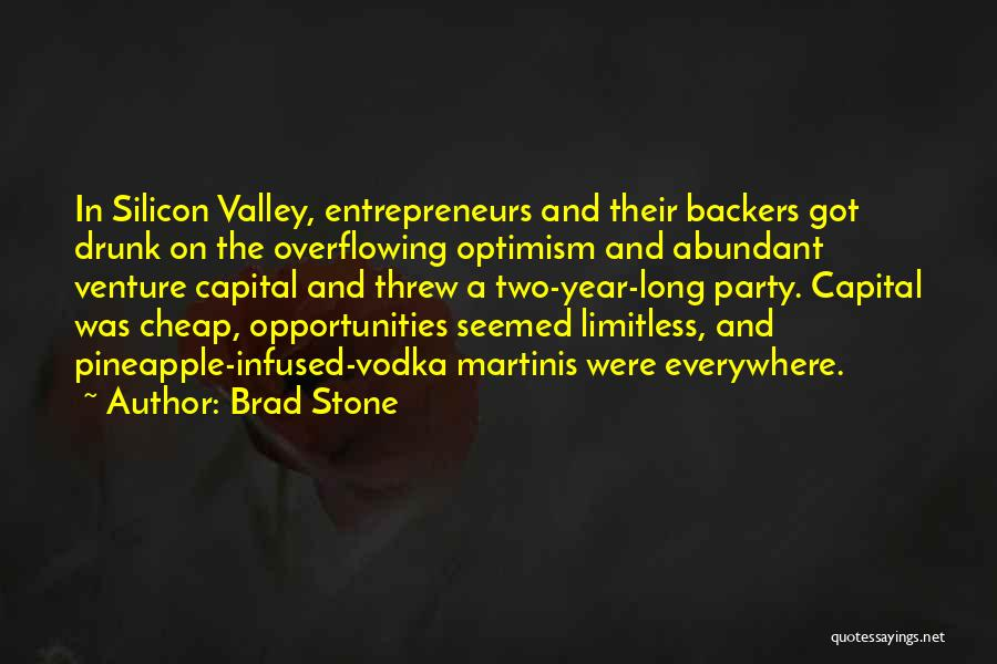 Venture Capital Quotes By Brad Stone