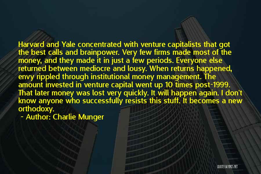 Venture Capital Quotes By Charlie Munger