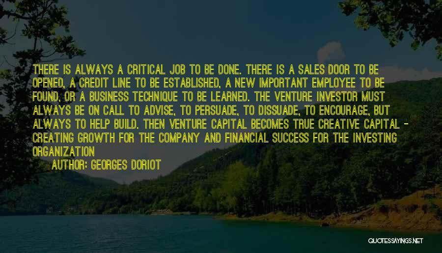 Venture Capital Quotes By Georges Doriot