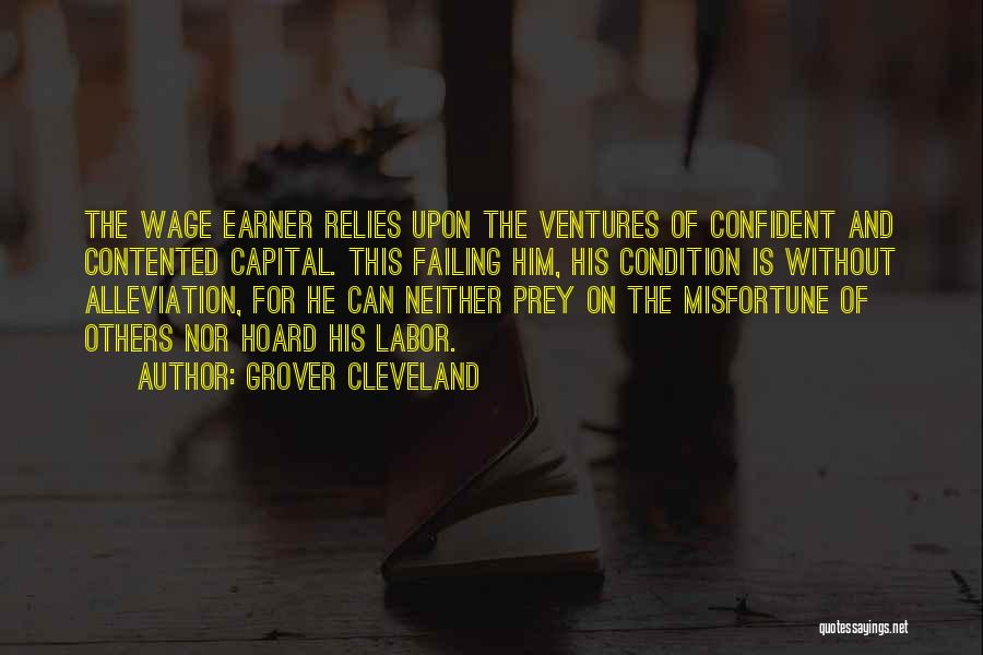 Venture Capital Quotes By Grover Cleveland