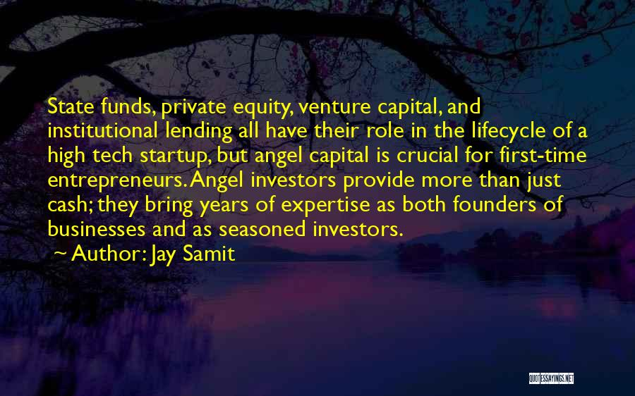 Venture Capital Quotes By Jay Samit