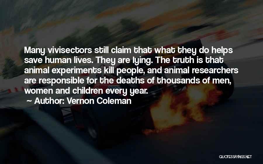 Vernon Coleman Quotes 1530070