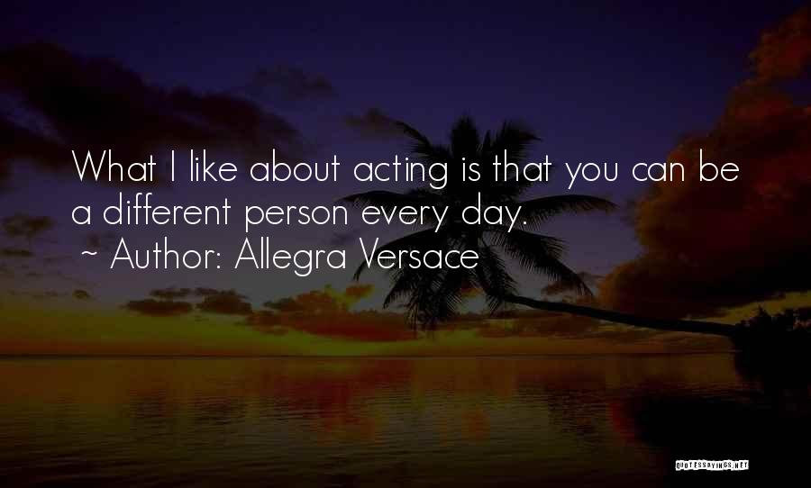 Versace Quotes By Allegra Versace