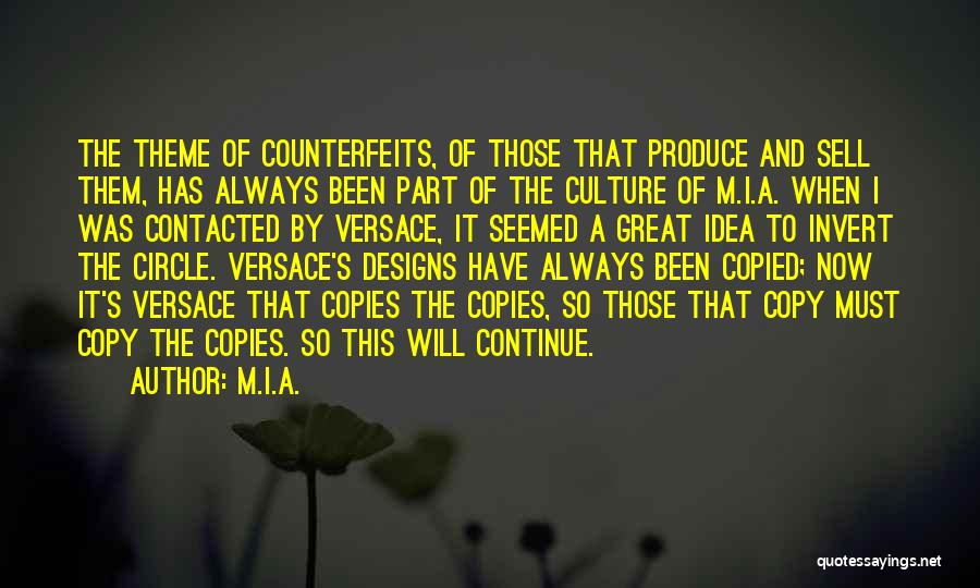 Versace Quotes By M.I.A.