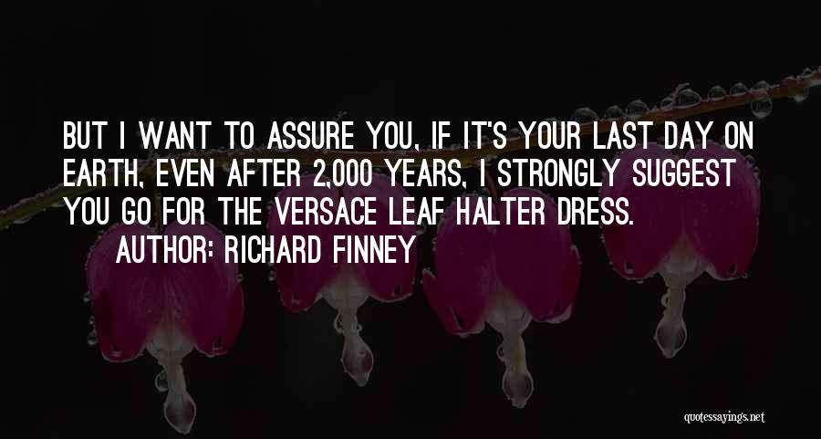 Versace Quotes By Richard Finney