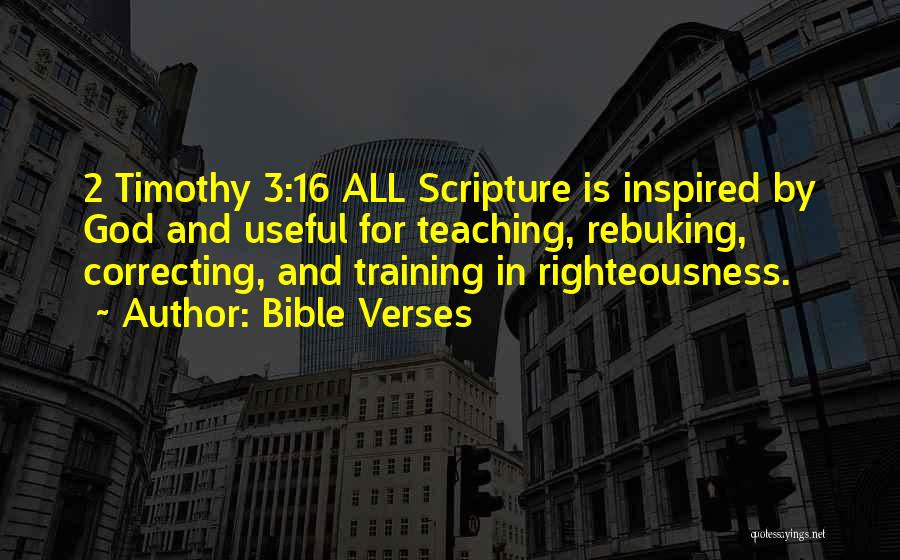 Verses Quotes By Bible Verses