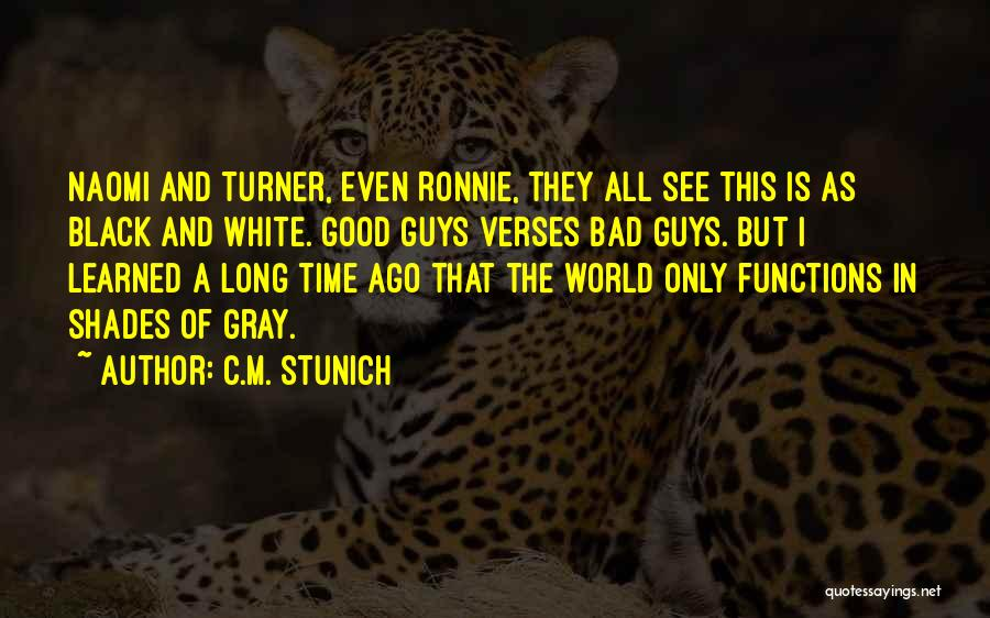 Verses Quotes By C.M. Stunich