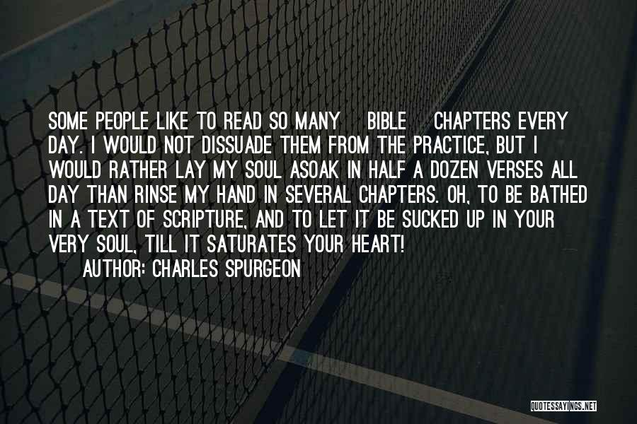 Verses Quotes By Charles Spurgeon