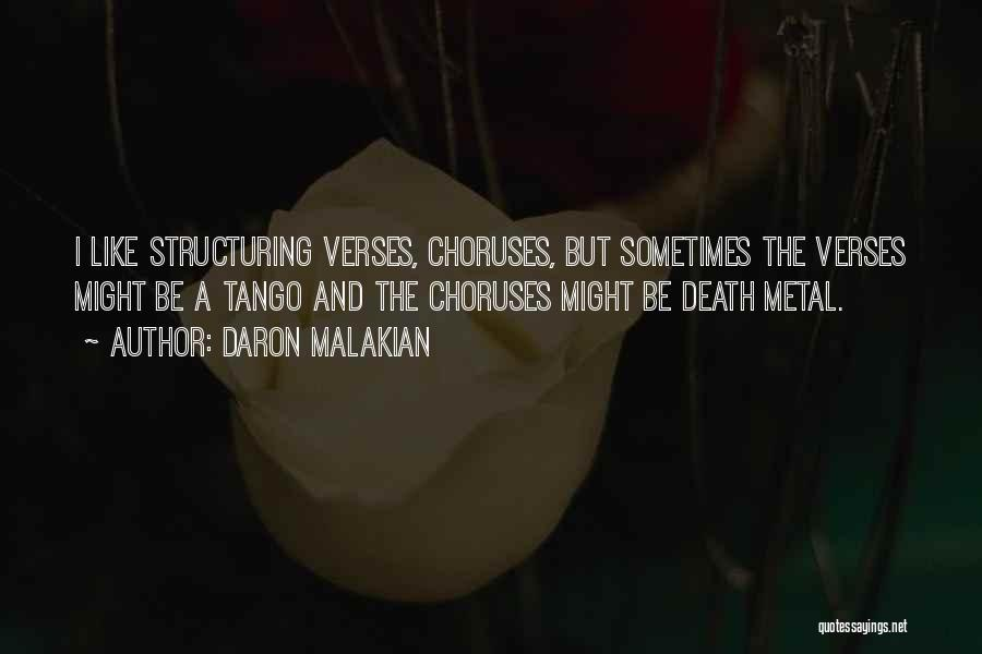 Verses Quotes By Daron Malakian