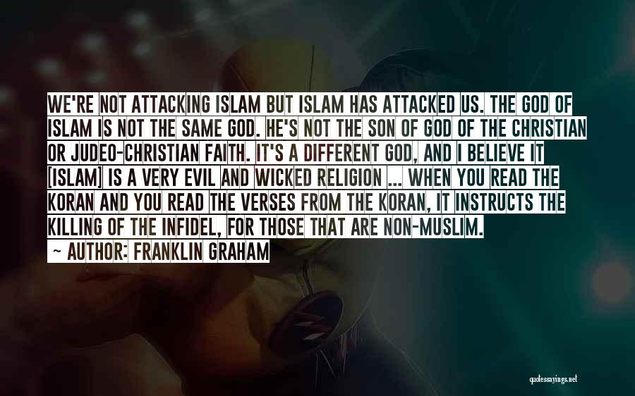 Verses Quotes By Franklin Graham