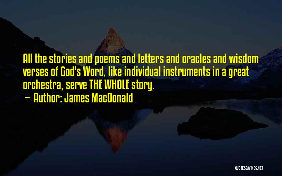 Verses Quotes By James MacDonald
