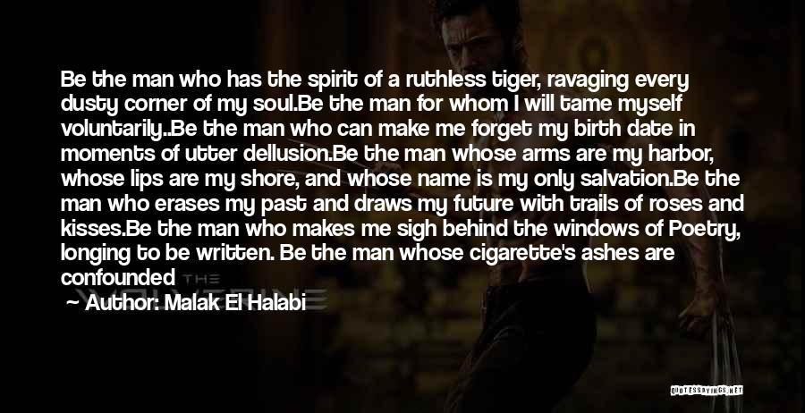 Verses Quotes By Malak El Halabi