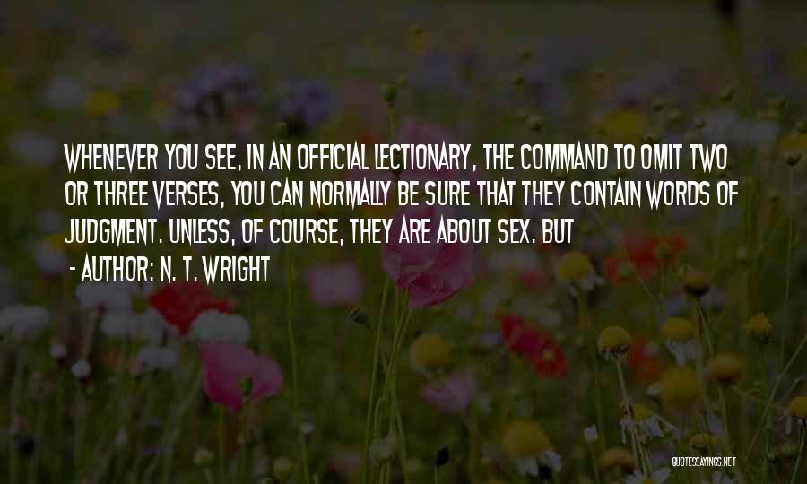 Verses Quotes By N. T. Wright