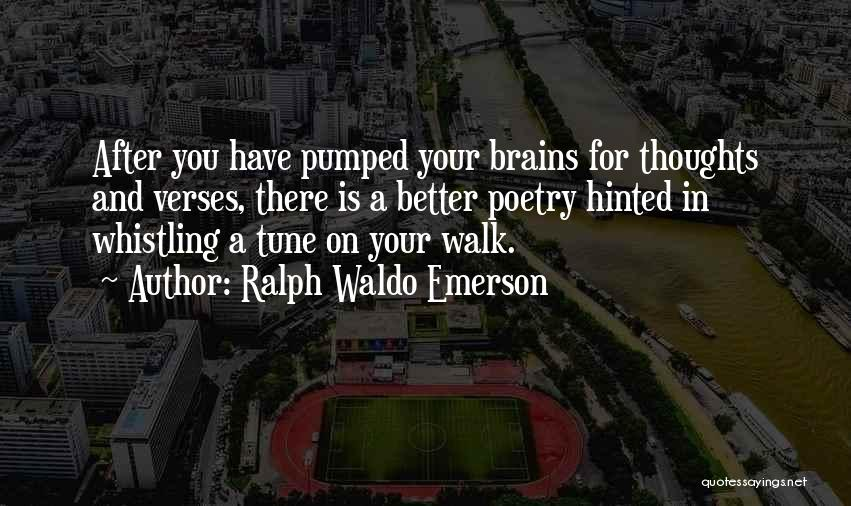 Verses Quotes By Ralph Waldo Emerson