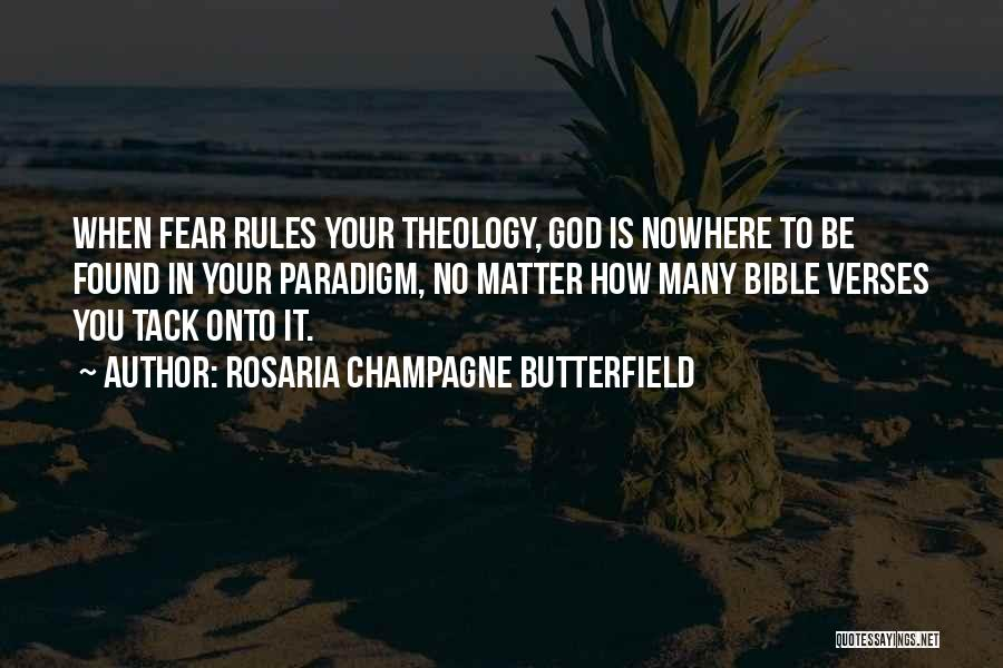Verses Quotes By Rosaria Champagne Butterfield