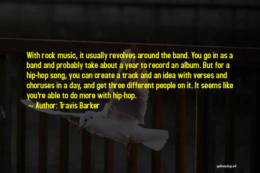 Verses Quotes By Travis Barker