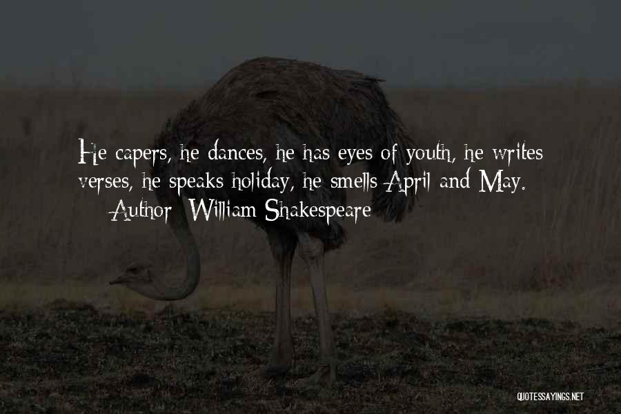 Verses Quotes By William Shakespeare