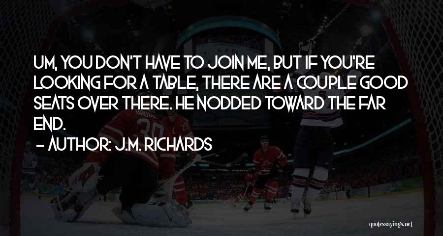 Very Cute Couple Quotes By J.M. Richards