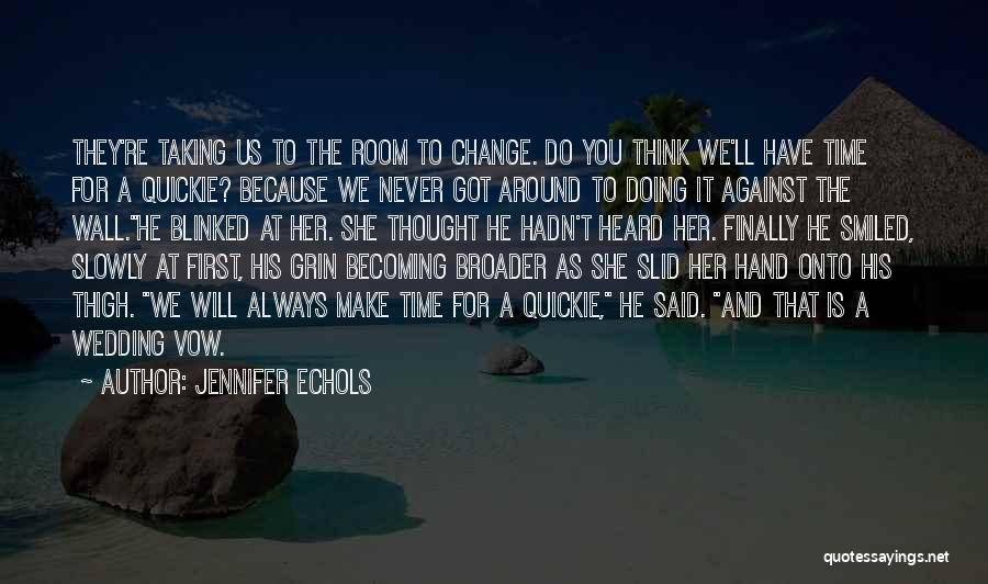 Very Cute Couple Quotes By Jennifer Echols