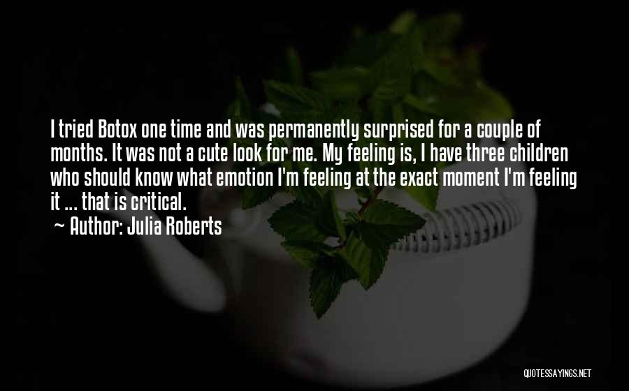 Very Cute Couple Quotes By Julia Roberts
