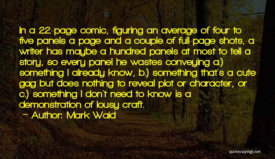 Very Cute Couple Quotes By Mark Waid
