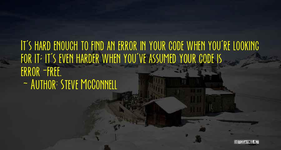 Very Funny Inspirational Quotes By Steve McConnell