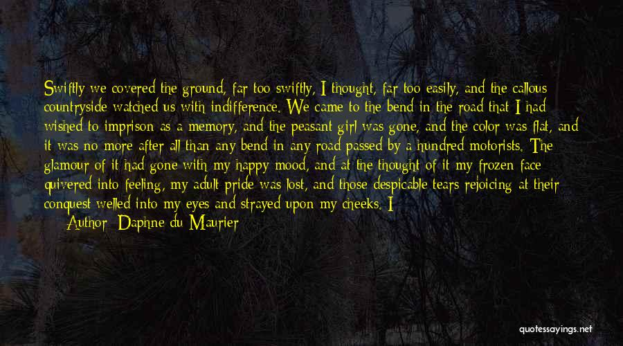 Very Happy Mood Quotes By Daphne Du Maurier
