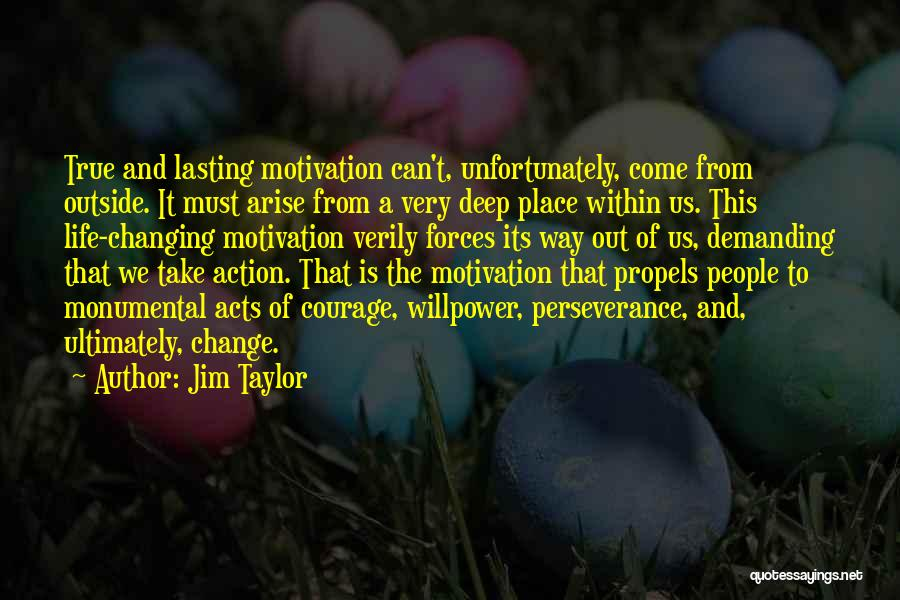 Very Motivational Quotes By Jim Taylor