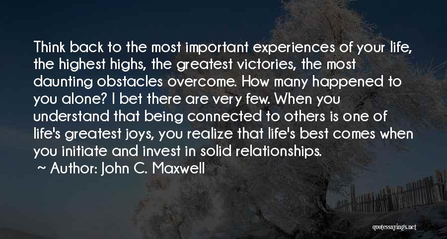 Very Motivational Quotes By John C. Maxwell
