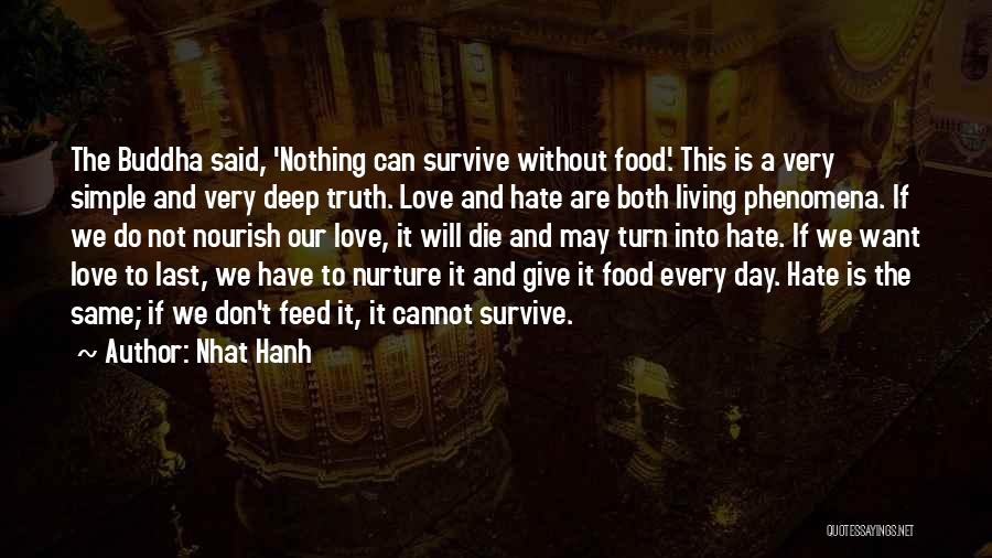 Very Motivational Quotes By Nhat Hanh