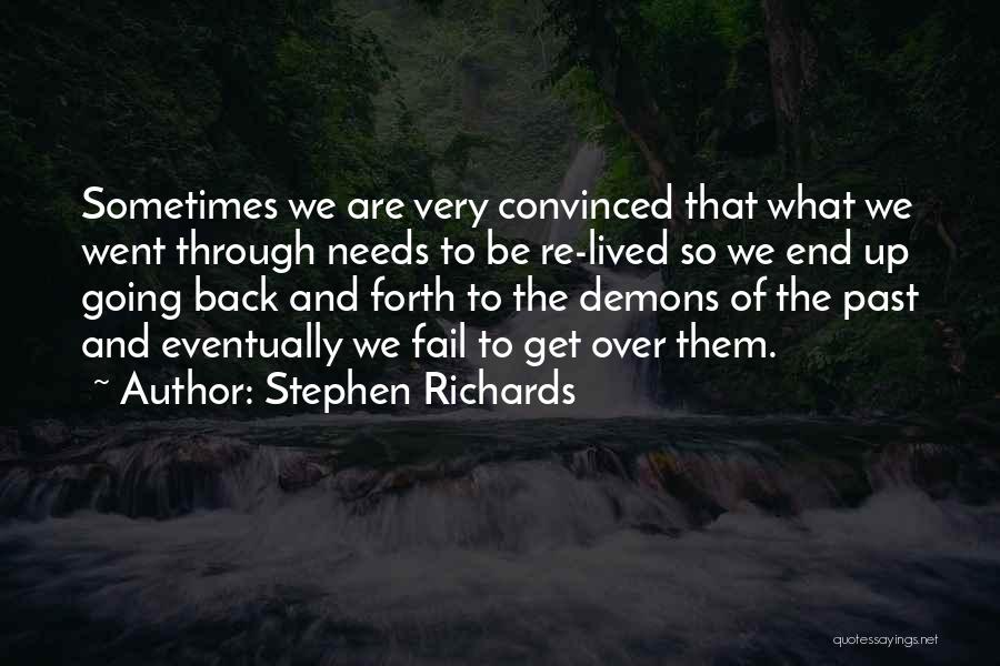 Very Motivational Quotes By Stephen Richards