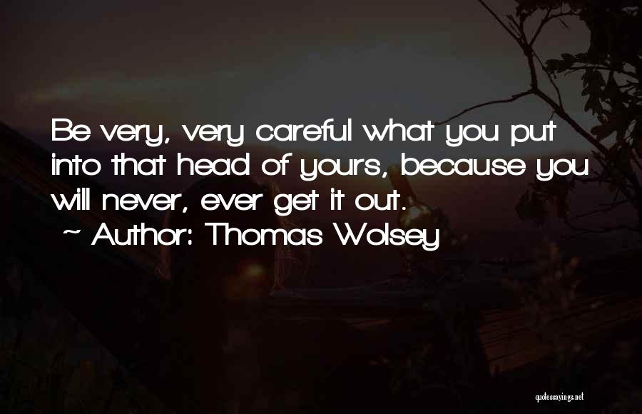 Very Motivational Quotes By Thomas Wolsey