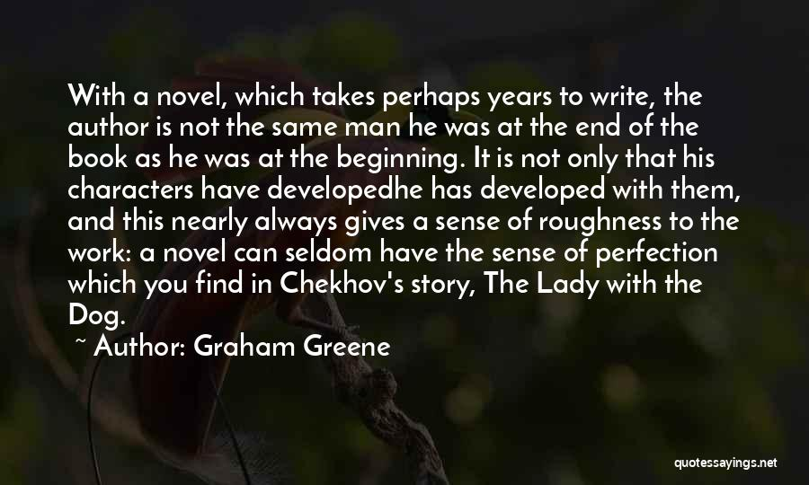 Very Short Dog Quotes By Graham Greene