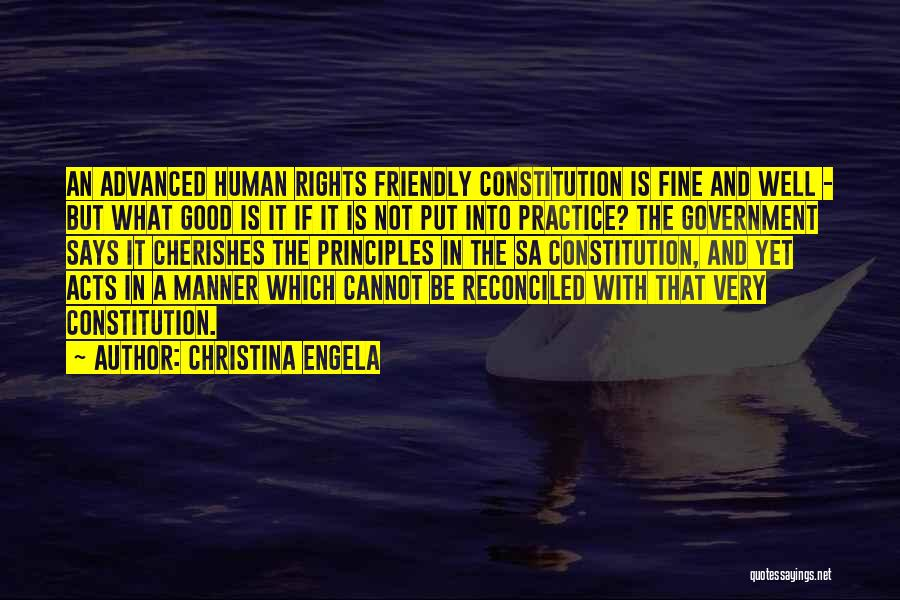 Very Well Quotes By Christina Engela