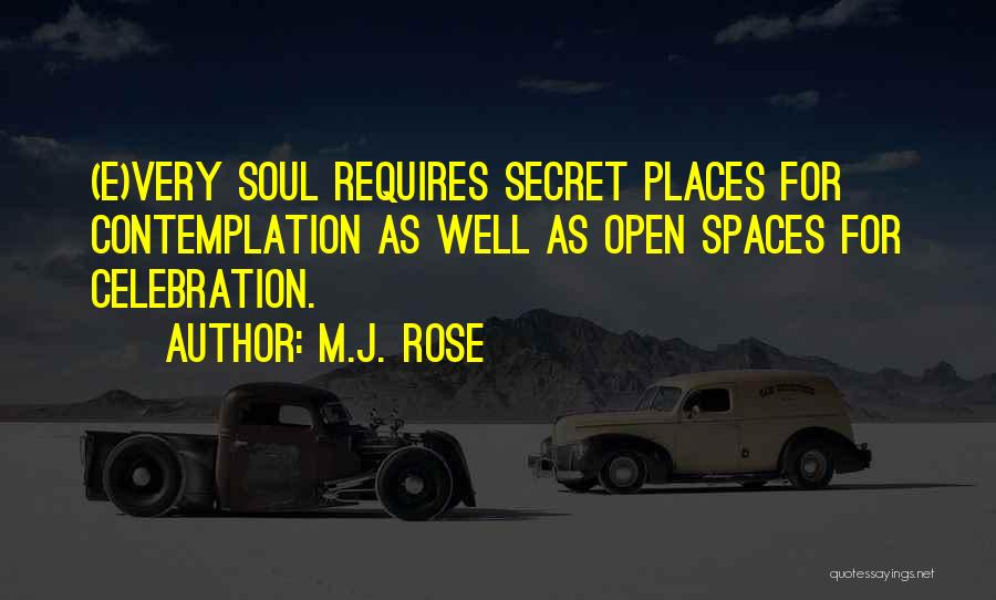 Very Well Quotes By M.J. Rose