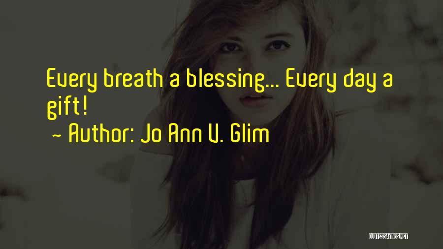 V'ger Quotes By Jo Ann V. Glim