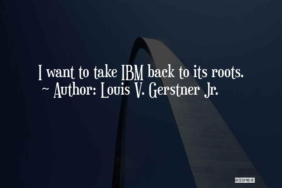 V'ger Quotes By Louis V. Gerstner Jr.